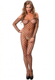 Bodystocking completo de red n