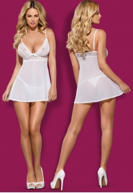 Babydoll sensita blanco