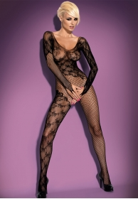 Bodystocking mangas largas neg