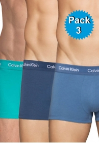 Boxer pack 3 cotton stretch