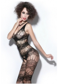 Bodystocking con decoracion fl